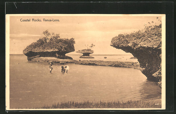 AK Vanua-Levu, Coastal Rocks