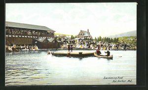 AK Bar Harbor, ME, Swimming Pool