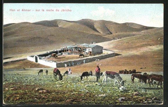 AK Han el Ahmar, sur la route de Jericho