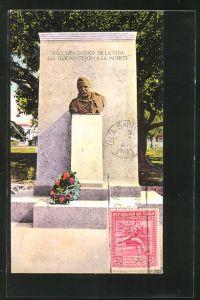 AK Santiago de Cuba, Monumento a Roosevelt