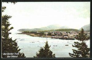 AK Bar Island, ME, Bar Harbor, Panorama
