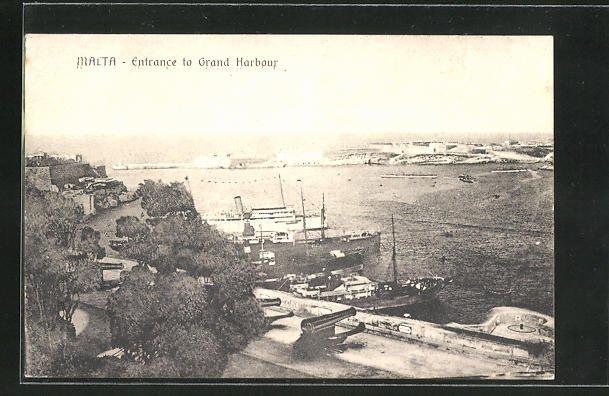 AK Malta, Entrance to Grand Harbour