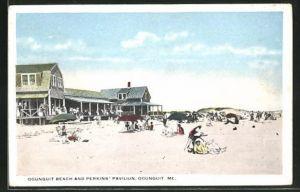 AK Ogunquit, ME, Beach and Perkins' Pavilion