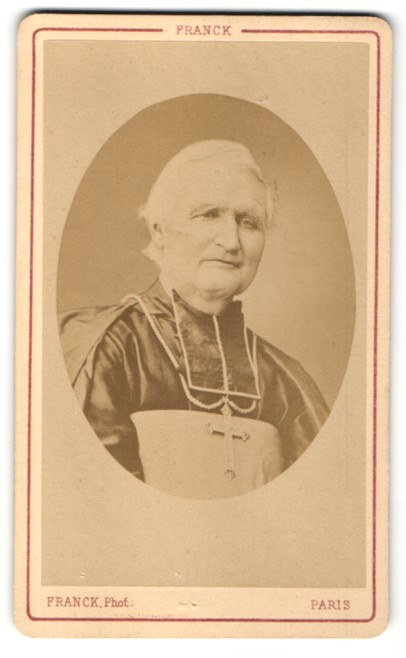 Fotografie Atelier Franck, Paris, Portrait Felix Dupanloup Bischof von Orleans