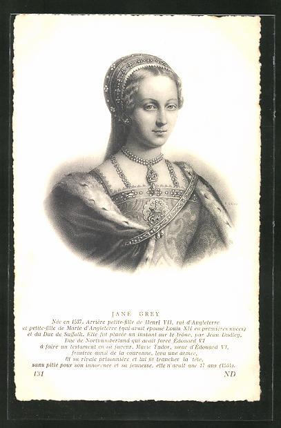AK Jane Grey von England