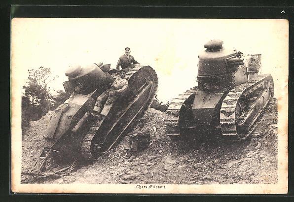 AK Panzer im Manöver