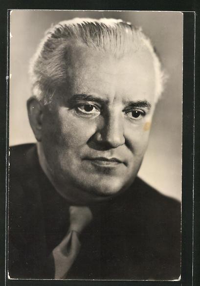 AK Schauspieler Willi Bredel spielte u.a. im Film