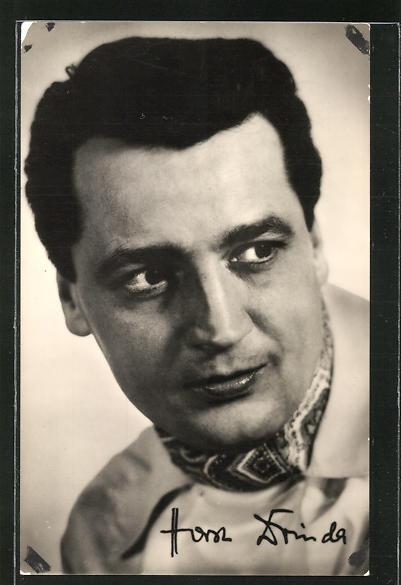 AK Schauspieler Horst Drinda in dem Film