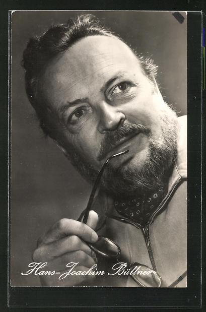 AK Schauspieler Hans-Joachim Büttner spielte u.a. im Film