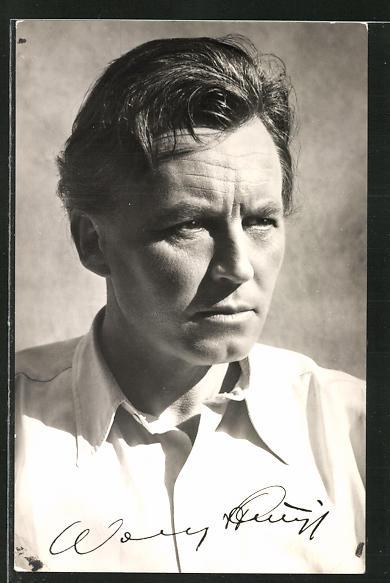 AK Schauspieler Wolfgang Stumpf spielte im Film