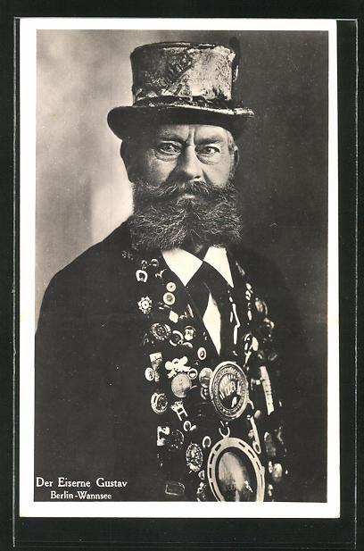 AK Der Eiserne Gustav aus Berlin-Wannsee