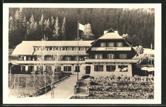 AK Weissensee, Hotel Haus Enzian