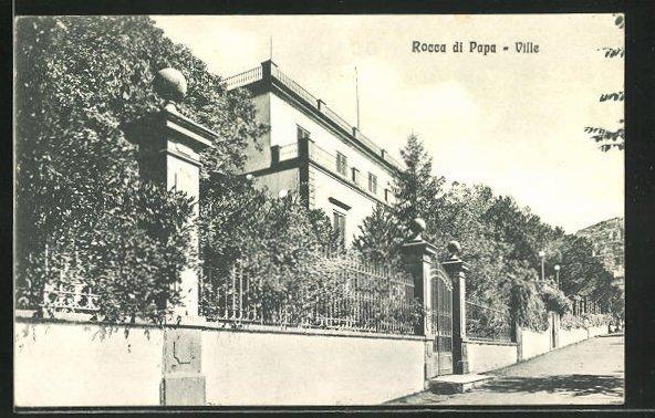 AK Rocca di Papa, Ville