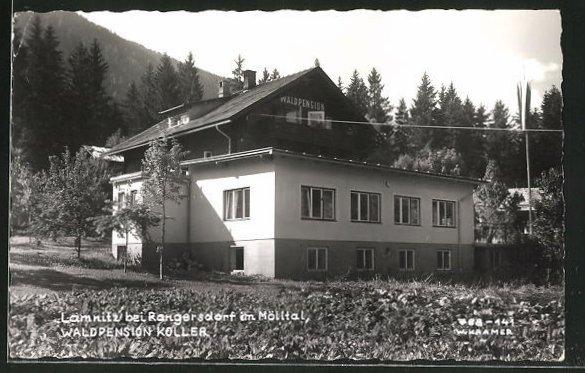 AK Lamnitz, Hotel-Waldpension Koller