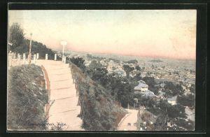 AK Kobe, Blick auf den Suwayama Park