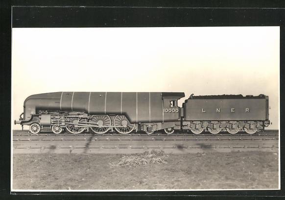 AK L-N-E-R High Pressure Compound, Express Locomotive No. 10.000, Stromlinienlokomotive