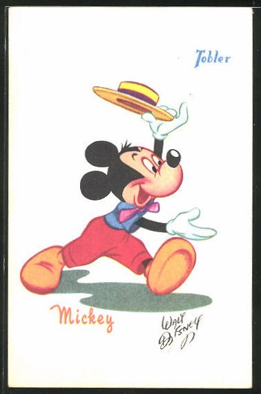 AK Chocolats Tobler, Walt Disney's Mickey Maus