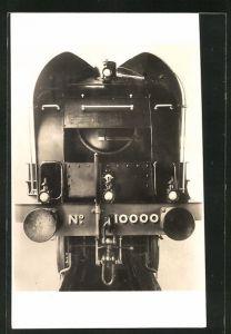 AK Express Locomotive, Front view of L-N-E-R High Pressure Compound, englische Eisenbahn