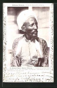 AK Eritrea, Ahmed Naib Abd-el Cherim, Figlio del vecchio Naib di Archico