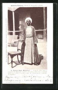 AK Eritrea, Osman Naib Mohamed, Esattore della città e distretto di Massaua