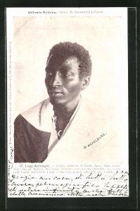 AK Eritrea, Ligg Aptesghi, Figlio adottivo di Batha Agos, Halbportrait