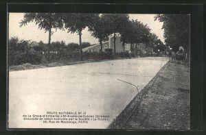 AK St-André-de-Cubzac, Strassenbau