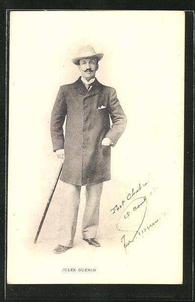 AK Französischer Antisemit Jules Guérin