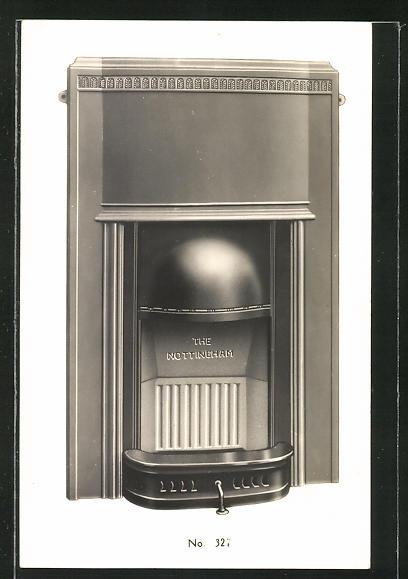 AK Reklame für Ofen der Firma Pickersgill & Frost Ltd.