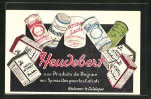 AK Heudebert ses Produits de Regime..., Reklame