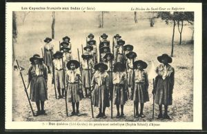 AK Des guides, Girl Guides du pensionnat catholique Sophia School d'Ajmer, Camping