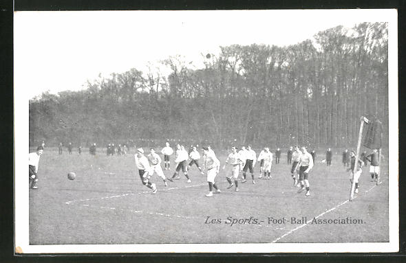 AK Les Sports, Foot-Ball Association, Fussballspiel