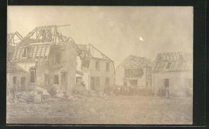 AK Ludwigshafen, Zerstörte Gebäude nach der Explosion