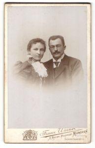 Fotografie Franz Werner, München, Portrait bürgerliche Eheleute