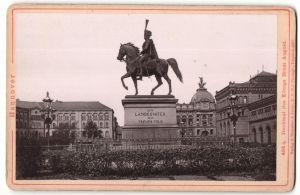 Fotografie Römmler & Jonas, Dresden, Ansicht Hannover, Denkmal des Königs Ernst August