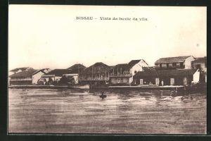 AK Bissau, Vista da frente de villa