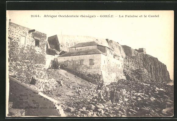 AK Gorée, La Falaise et le Castel