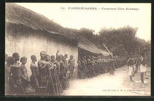 AK Ngounié-Samba, Caravane libre Ashango