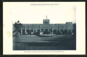 AK Ouagadougou, Palais du Gouverneur de la Haute-Volta