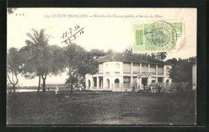 AK Guinee Francaise, Direction des Travaux publics et Service des Mines