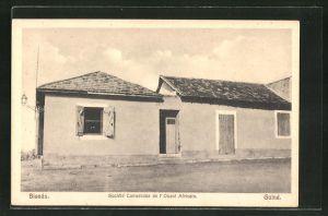 AK Bissau, Societe Comerciale de l'Ouest Africain, Gebäudeansicht