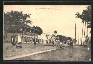 AK Conakry, Rue du Commerce, Strassenpartie