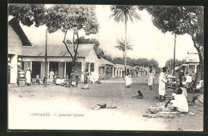 AK Conakry, Quartier Syriens