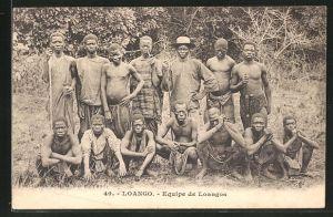 AK Loango, Equipe de Loangos