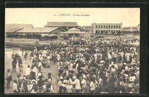 AK Djibouti, Fanfare Indigène