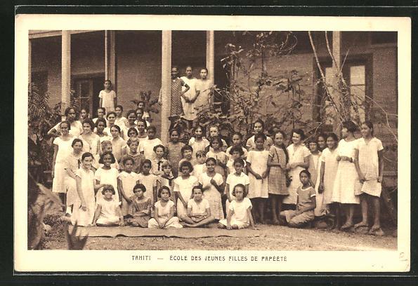 AK Tahiti, Ecole des Jeunes Filles de Papeete