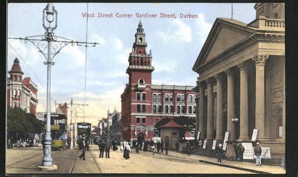 AK Durban, View on West Street Corner Gardiner Street