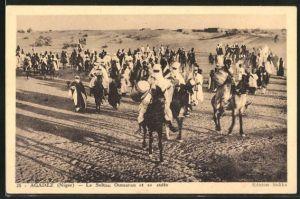AK Agadez, Le Sultan Oumaran et sa suite