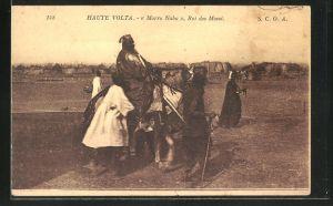 AK Ouagadougou, Morro Naba, Roi des Mossi