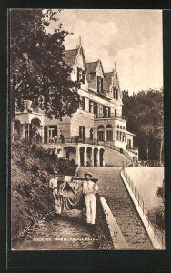 AK Madeira, Blick zum Monte Palace Hotel