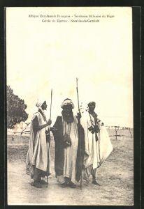AK Niamey, Territoire Militaire, Notables de Gamkale, Cercle du Djerma